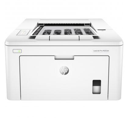 HP LaserJet Pro M203dn Laser Printer - Monochrome - 1200 x 1200 dpi Print - Plain Paper Print - Desktop FrontMaximum