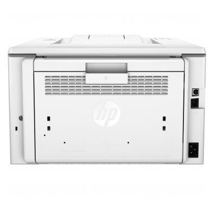 HP LaserJet Pro M203dn Laser Printer - Monochrome - 1200 x 1200 dpi Print - Plain Paper Print - Desktop RearMaximum
