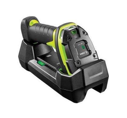 ZEBRA DS3678-SR Handheld Barcode Scanner - Wireless Connectivity - Industrial Green