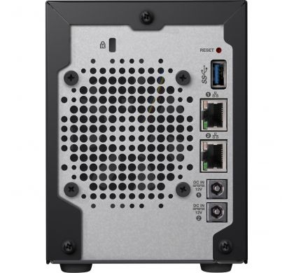 WESTERN DIGITAL My Cloud PR2100 2 x Total Bays NAS Server - Desktop RearMaximum