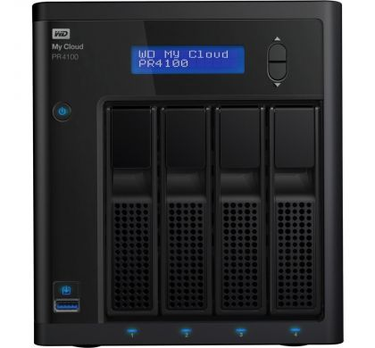 WESTERN DIGITAL My Cloud PR4100 4 x Total Bays NAS Server - Desktop