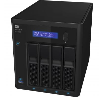 WESTERN DIGITAL My Cloud PR4100 4 x Total Bays NAS Server - Desktop TopMaximum