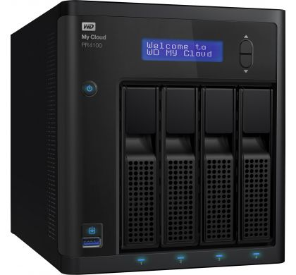 WESTERN DIGITAL My Cloud PR4100 4 x Total Bays NAS Server - Desktop RightMaximum