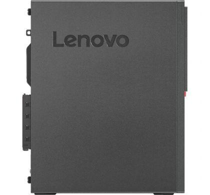 LENOVO ThinkCentre M710s 10M7A005AU Desktop Computer - Intel Core i5 (7th Gen) i5-7400 3 GHz - 8 GB DDR4 SDRAM - 256 GB SSD - Windows 10 Pro 64-bit (English) - Small Form Factor - Black TopMaximum