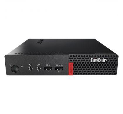 LENOVO ThinkCentre M910q 10MVA002AU Desktop Computer - Intel Core i7 (7th Gen) i7-7700T 2.90 GHz - 8 GB DDR4 SDRAM - 256 GB SSD - Windows 10 Pro 64-bit (English) - Tiny - Black