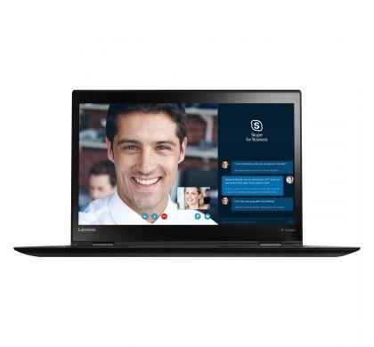 "LENOVO ThinkPad X1 Carbon 20K40000AU 35.6 cm (14"") LCD Ultrabook - Intel Core i5 (6th Gen) i5-6200U Dual-core (2 Core) 2.30 GHz - 8 GB LPDDR3 - 256 GB SSD - Windows 10 - 1920 x 1080 - In-plane Switching (IPS) Technology - Black"