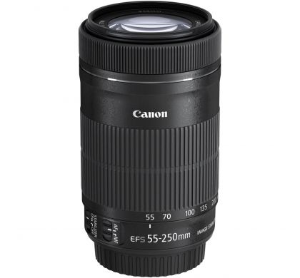 CANON - 55 mm to 250 mm - f/4 - 5.6 - Zoom Lens for  EF-S