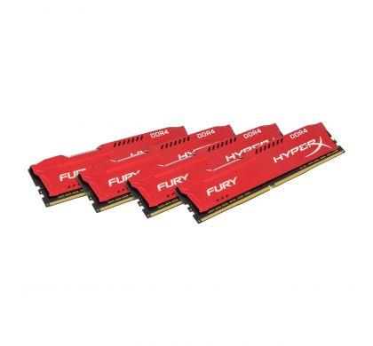 KINGSTON HyperX Fury RAM Module - 64 GB (4 x 16 GB) - DDR4 SDRAM