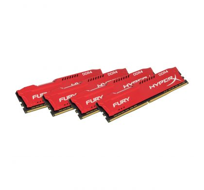 KINGSTON HyperX Fury RAM Module - 32 GB (4 x 8 GB) - DDR4 SDRAM