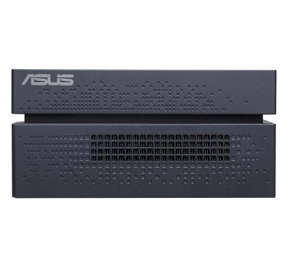 ASUS VivoMini VC66-I7M8S256W10 Desktop Computer - Intel Core i7 (7th Gen) i7-7700 3.60 GHz - 8 GB DDR4 SDRAM - 256 GB SSD - Windows 10 Home 64-bit - Mini PC - Black LeftMaximum