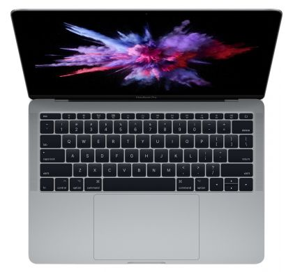 "APPLE MacBook Pro MPXQ2X/A 33.8 cm (13.3"") LCD Notebook - Intel Core i5 (7th Gen) Dual-core (2 Core) 2.30 GHz - 8 GB LPDDR3 - 128 GB SSD - Mac OS Sierra - 2560 x 1600 - In-plane Switching (IPS) Technology - Space Gray"