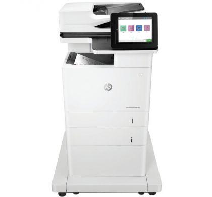 HP LaserJet M632z Laser Multifunction Printer - Monochrome - Plain Paper Print - Floor Standing