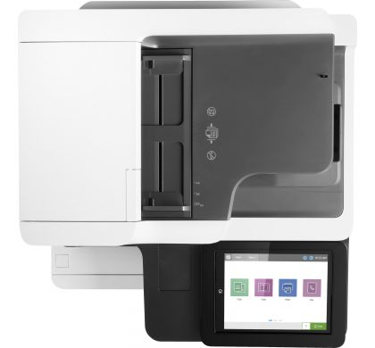 HP LaserJet M632fht Laser Multifunction Printer - Monochrome - Plain Paper Print - Desktop TopMaximum