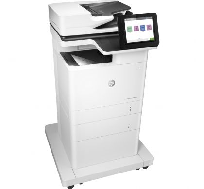 HP LaserJet M632fht Laser Multifunction Printer - Monochrome - Plain Paper Print - Desktop RightMaximum