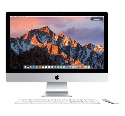 "APPLE iMac MNE02X/A All-in-One Computer - Intel Core i5 (7th Gen) 3.40 GHz - 8 GB DDR4 SDRAM - 1 TB HHD - 54.6 cm (21.5"") 4096 x 2304 - Mac OS Sierra - Desktop"