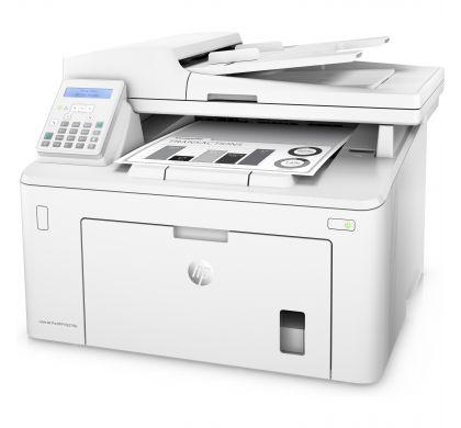 HP LaserJet Pro M227 M227fdn Laser Multifunction Printer - Monochrome - Plain Paper Print - Desktop LeftMaximum