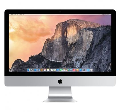 "APPLE iMac MK482X/A All-in-One Computer - Intel Core i5 3.30 GHz - 8 GB DDR3 SDRAM - 2 TB HHD - 68.6 cm (27"") 5120 x 2880 - Mac OS X 10.11 El Capitan - Desktop FrontMaximum"