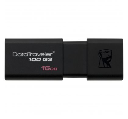 KINGSTON DataTraveler 100 G3 16 GB USB 3.0 Flash Drive TopMaximum