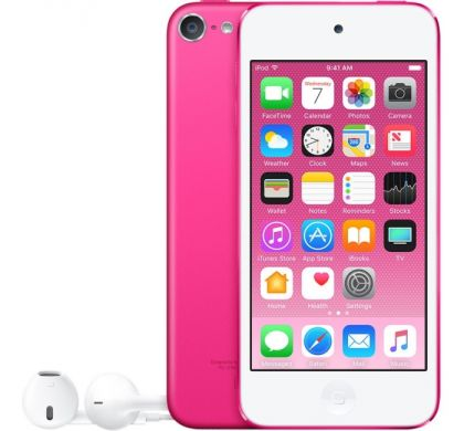 APPLE iPod touch 6G A1574 128 GB Pink Flash Portable Media Player