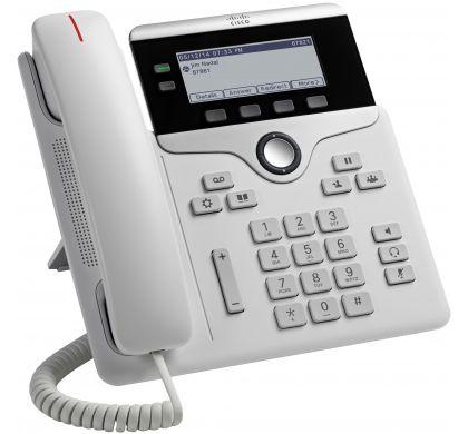 CISCO 7821 IP Phone - Cable - Wall Mountable, Desktop - White