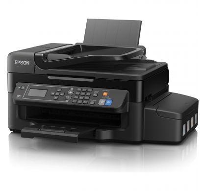 EPSON WorkForce ET-4500 Inkjet Multifunction Printer - Colour - Plain Paper Print - Desktop