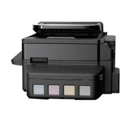 EPSON WorkForce ET-4500 Inkjet Multifunction Printer - Colour - Plain Paper Print - Desktop LeftMaximum