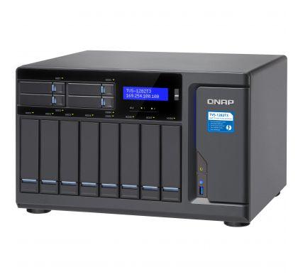 QNAP Turbo vNAS TVS-1282T3 12 x Total Bays SAN/NAS/DAS Storage System - Tower TopMaximum