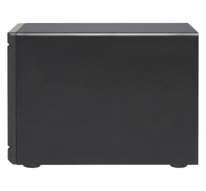 QNAP Turbo vNAS TVS-1282T3 12 x Total Bays SAN/NAS/DAS Storage System - Tower LeftMaximum