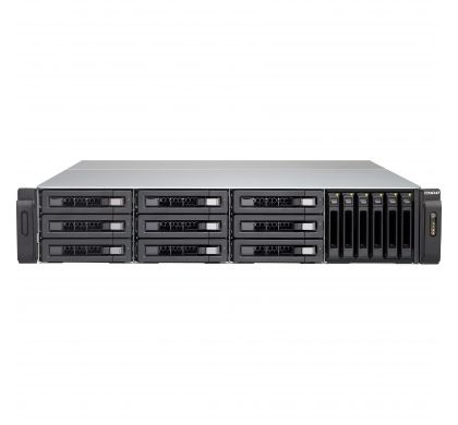 QNAP Turbo vNAS TVS-1582TU 15 x Total Bays SAN/NAS Storage System - 2U - Rack-mountable FrontMaximum