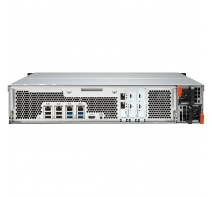 QNAP Turbo vNAS TVS-1582TU 15 x Total Bays SAN/NAS Storage System - 2U - Rack-mountable RearMaximum