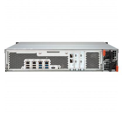 QNAP Turbo vNAS TVS-1582TU 15 x Total Bays SAN/NAS Storage System - 2U - Rack-mountable RearMaximum