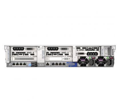 HPE HP ProLiant DL380 G10 2U Rack Server - 1 x Intel Xeon Silver 4114 Deca-core (10 Core) 2.20 GHz - 32 GB Installed DDR4 SDRAM - 12Gb/s SAS Controller - 1 x 500 W RearMaximum