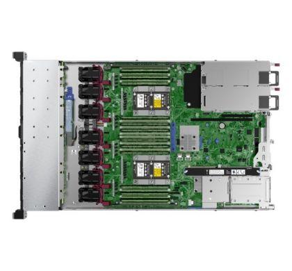 HPE HP ProLiant DL360 G10 1U Rack Server - 1 x Intel Xeon Silver 4114 Deca-core (10 Core) 2.20 GHz - 16 GB Installed DDR4 SDRAM - 12Gb/s SAS Controller - 1 x 500 W TopMaximum