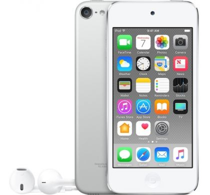 APPLE iPod touch 6G A1574 128 GB Silver Flash Portable Media Player