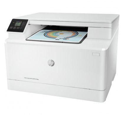 HP LaserJet Pro M180n Laser Multifunction Printer - Colour - Plain Paper Print - Desktop LeftMaximum