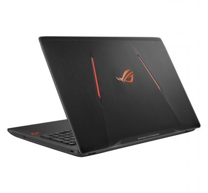 "ASUS ROG Strix GL553VE-FY114T 39.6 cm (15.6"") LCD Gaming Notebook - Intel Core i7 (7th Gen) i7-7700HQ Quad-core (4 Core) 2.80 GHz - 16 GB DDR4 SDRAM - 1 TB HDD - 256 GB SSD - Windows 10 64-bit - 1920 x 1080 - Black RearMaximum"