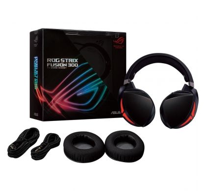 ASUS ROG Strix Fusion 300 Wired 50 mm Stereo Headset - Over-the-head - Circumaural