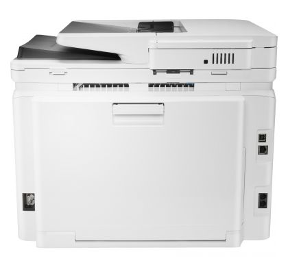 HP LaserJet Pro M281fdn Laser Multifunction Printer - Colour - Plain Paper Print - Desktop RearMaximum