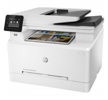 HP LaserJet Pro M281fdn Laser Multifunction Printer - Colour - Plain Paper Print - Desktop LeftMaximum