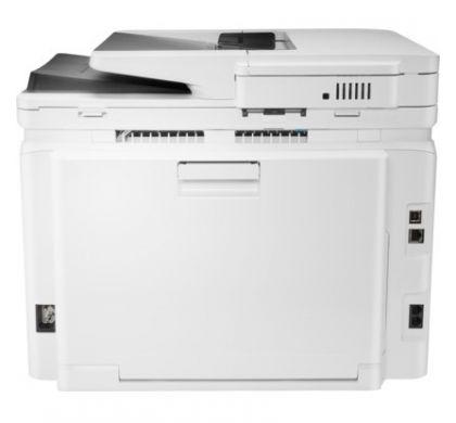 HP LaserJet Pro M281fdw Laser Multifunction Printer - Colour - Plain Paper Print - Desktop RearMaximum