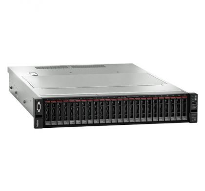 LENOVO ThinkSystem SR650 7X061002AU 2U Rack Server - 1 x Intel Xeon Silver 4108 Octa-core (8 Core) 1.80 GHz - 16 GB Installed TruDDR4 - 12Gb/s SAS, Serial ATA/600 Controller - 0, 1, 5, 10, 50, JBOD RAID Levels - 1 x 750 W