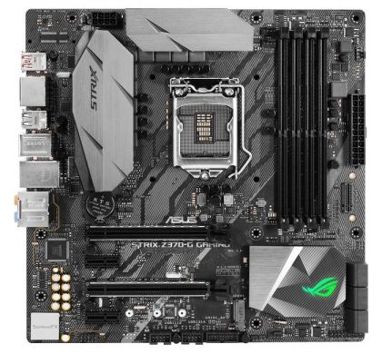 ASUS ROG Strix Z370-G Gaming Desktop Motherboard - Intel Chipset - Socket H4 LGA-1151