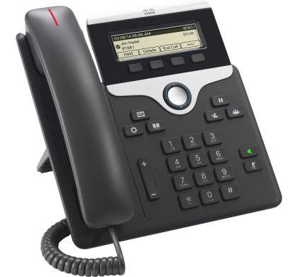 CISCO 7811 IP Phone - Cable - Wall Mountable, Desktop - Charcoal