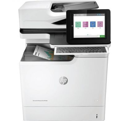 HP LaserJet M681dh Laser Multifunction Printer - Colour - Plain Paper Print - Desktop