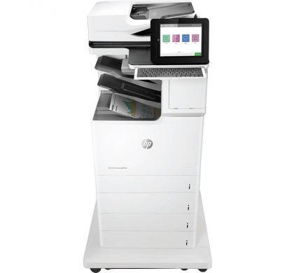 HP LaserJet M681f Laser Multifunction Printer - Colour - Plain Paper Print - Floor Standing