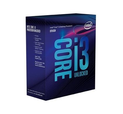 INTEL Core i3 i3-8350K Quad-core (4 Core) 4 GHz Processor - Socket H4 LGA-1151 - Retail Pack