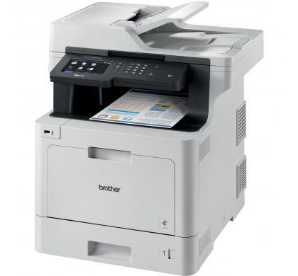 BROTHER MFC-L8900CDW Laser Multifunction Printer - Colour - Plain Paper Print - Desktop LeftMaximum