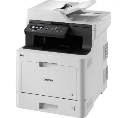 BROTHER Professional MFC-L8690CDW Laser Multifunction Printer - Colour - Plain Paper Print - Desktop LeftMaximum
