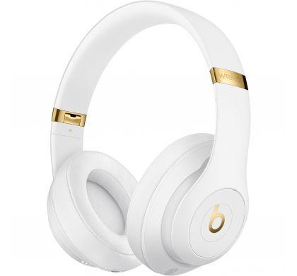 APPLE Studio3 Wired/Wireless Bluetooth Stereo Headset - Over-the-head - Circumaural - White LeftMaximum