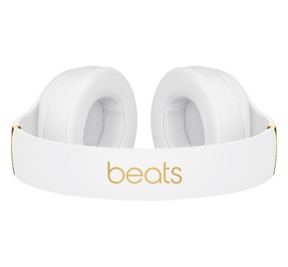 APPLE Studio3 Wired/Wireless Bluetooth Stereo Headset - Over-the-head - Circumaural - White TopMaximum